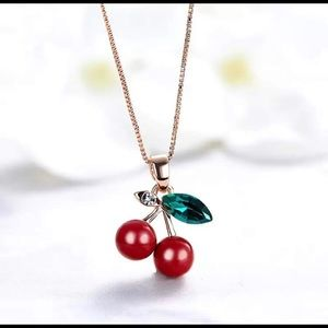 Cherry Necklace 🍒